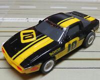 Per H0 Slotcar Racing Modellismo Ferroviario Corvette Con Tomy Chassis