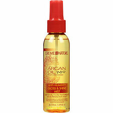 Creme of Nature Argan Oil Anti-Humidity Gloss and Shine Mist 4oz
