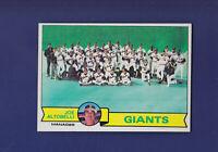 San Francisco Giants Checklist 1979 TOPPS Baseball #356 (NM)