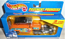 Hot Wheels Pavement Pounders '55 Chevy Car & Truck