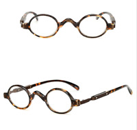 Men Women Reading Glasses Small Round Readers Eyeglass +1.0 1.5 2.0 2.5 3.0 3.5