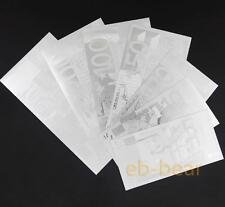 Lots 10 Set 70 Pcs Euro Silver Banknote Crafts Beautifully Collections Brand New