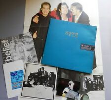 """The Mission - Into The Blue 12"""" + Poster, Signed 'Belief' and 2 x Photos +"""