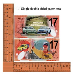 Supercars Legend Dick Johnson Racing Ford No17   Not Legal Tender