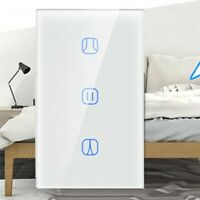 Panel remoto táctil inteligente interruptor cortina WiFi táctil for Alexa Google