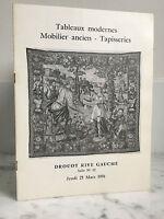 Catálogo De Venta Pizarras Moderno Muebles Ancien Baño N º 12 25 Mars 1976