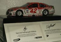 2017 RCCA KYLE LARSON #42 TARGET MICHIGAN FALL WIN DAUL AUTO ELITE 1/24 CAR#13