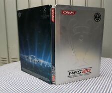 STEELBOX PES 2013 CUSTODIA IN ALLUMINIO XBOX UEFA CHAMPIONS LEAGUE ORIGINALE