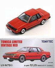 TOMYTEC TOMY TOMICA LIMITED VINTAGE NEO  LV-N73c TOYOTA CELICA 1800GT-T 1:64