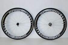 SPINERGY STEALTH PBO CARBON CLINCHER WHEELS 700c 9/10 WHEELSET SHIMANO SRAM 43mm