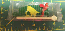 Vintage 1960s Bull fighter Toy Still in Package! New Old Stock Made in Hong Kong