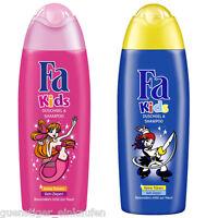 (15,96€/L) 250ml Fa Kids Duschgel & Shampoo Meerjungfrau/Pirat wählbar
