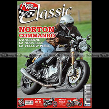 MOTO REVUE CLASSIC N°58 NORTON 750 COMMANDO KAWASAKI 250 S1 NSU ALAIN GENOUD