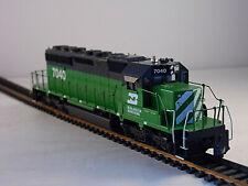 Athearn HO Scale Train Burlington Northern  #7040 Powered Diesel Locomotive