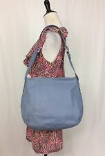 Coach Vintage USA Large Blue Leather Legacy Soho Hobo Tote Shoulder Bag 4161