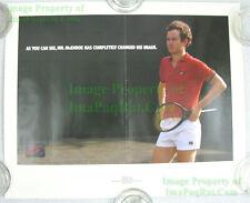 NITF! Vintage 1985 NIKE Poster ☆ John McEnroe Changed His Image ☆ VERY FUNNY