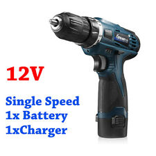 12V Electric Screwdriver Li-Battery Rechargeable Cordless Drill Power Tools