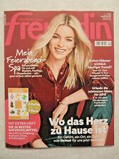 freundin 1/2019 * Nr. 1 * 12.12.2018 + Extra-Heft Die 20 besten Naturheilmittel