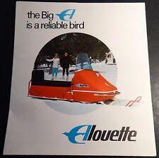 VINTAGE 1968 ALOUETTE SNOWMOBILE SALES BROCHURE  6 PAGES  (212)