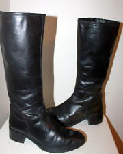 Unknown label mid-calf boots women Eur 36 US 5.5 UK 3.5 USED from Italy #409