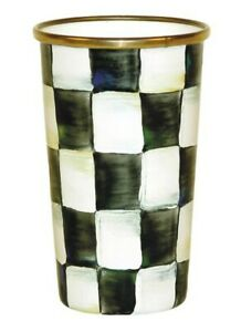 MacKenzie-Childs Courtly Check Enamel Tumbler - 10 Ounce