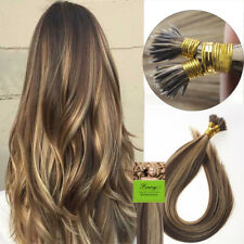 Double Drawn Remy Human Hair Stick I Tip Pre Bonded Keratin Hair Extensions 1g/s