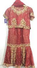 Indian pakistani Shaadi mariage lehanga shalwar pantalon kameez costume asiatique robe