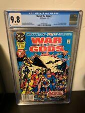 War of the Gods #1 CGC 9.8 Newsstand!1st Issue George Perez Wonder Woman Shazam