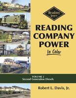 READING COMPANY Power in Color, Vol. 2: Second Generation Diesels -- (NEW BOOK)