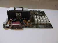 Vintage Shuttle AI61V12A AMD Athlon Motherboard Working System Pull