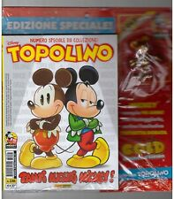 TOPOLINO LIBRETTO 3286 BLISTERATO STATUETTA METALLO 90 ANNI TOPOLINO COLLEZIONE
