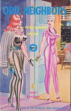 Vintage Sleaze PB Paperback - Odd Neighbors - Bill Ward Lesbian Wee Hours 1967