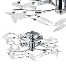 """[lux.pro]® Deckenleuchte 4x E14 Ø 47 cm """"Blätter"""" Deckenlampe Lüster Zimmerlampe"""