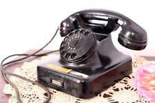 Antikes Büro Telefon Bakelit Telefon Cheftelefon Wählscheibe / Antique Phone