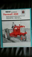 New ListingInternational Harvester McCormick Farmall 450 Tractor Sales Brochure