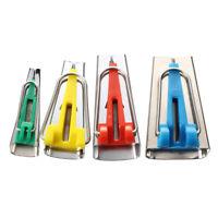 Set of 4 Fabric Bias Tape Maker Binding Tool Sewing Quilting CS