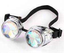 Hotest Sale! Retro Vintage Victorian Steampunk Kaleidoscope Goggles Glasses Weld