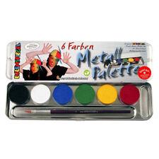 Eulenspiegel Schminkpalette 6 Farben Kinderschminke Schminke