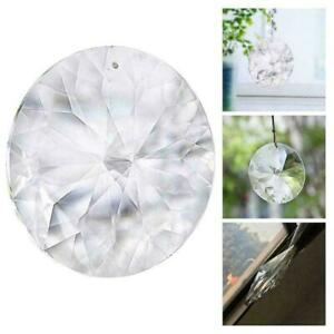 45mm Transparent Crystal Lamps Wall Pendants Hall Lighting Hanging Crafts A2L2