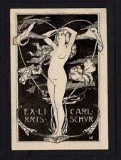 09)Nr.008- EXLIBRIS- Erotik / erotic, Willy Baedeker