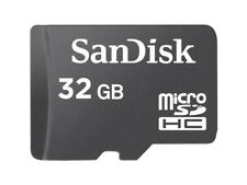 32GB SanDisk MicroSDHC Memory Card Class 4 with Adapter
