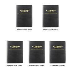 0201/1206/0402/0805 SMD Chip Inductance Assortment Booklet Kit Sample Book