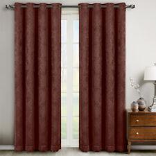 Bella Paisley Grommet Blackout Curtains (Set of 2)