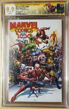 Marvel Comics #1000 1:50 Clayton Crain Variant CGC SS 9.9 Limited NYC Label 🔥🗝