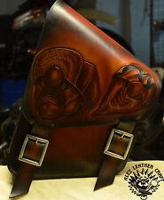 Harley Softail Fat Boy Satteltasche Schwinge Rahmentasche Chicano