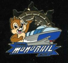 DLR Monorail Mystery Collection Chip Disney Pin 120296