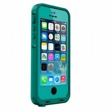 Genuine LifeProof iPhone SE 5 5s Fre Case Cover Waterproof Aqua Green Dark Teal