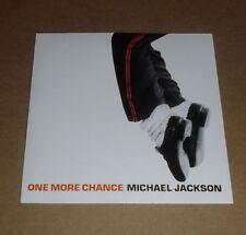 "MICHAEL JACKSON  "" ONE MORE CHANCE "" CD SINGLE (2003)"