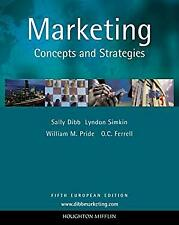 Marketing Concepts and Strategies Paperback Dibb