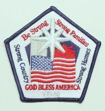 USN Navy patch:  Patrol Squadron 10 (VP-10) - God Bless America